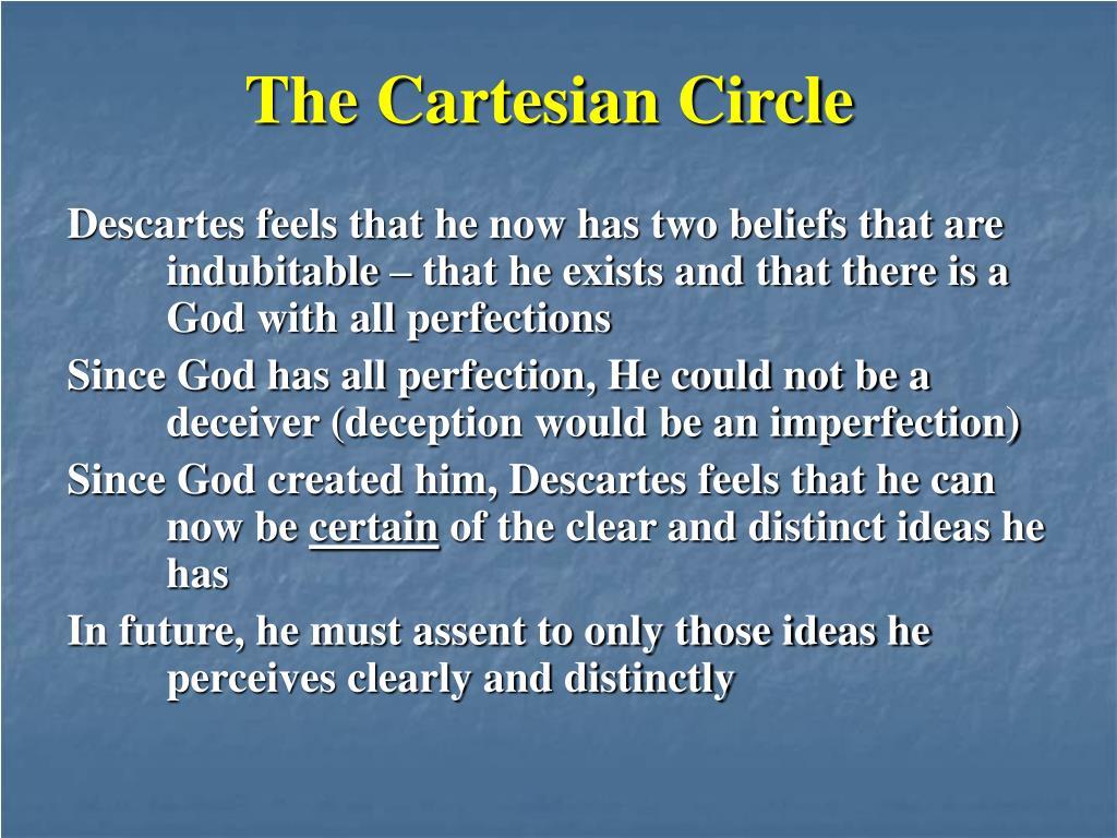 The Cartesian Circle