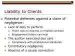 liability to clients11