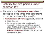 liability to third parties under common law16
