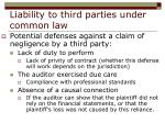 liability to third parties under common law18