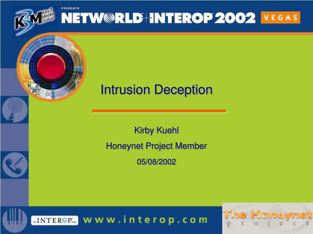 intrusion deception l.