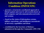 information operations condition infocon
