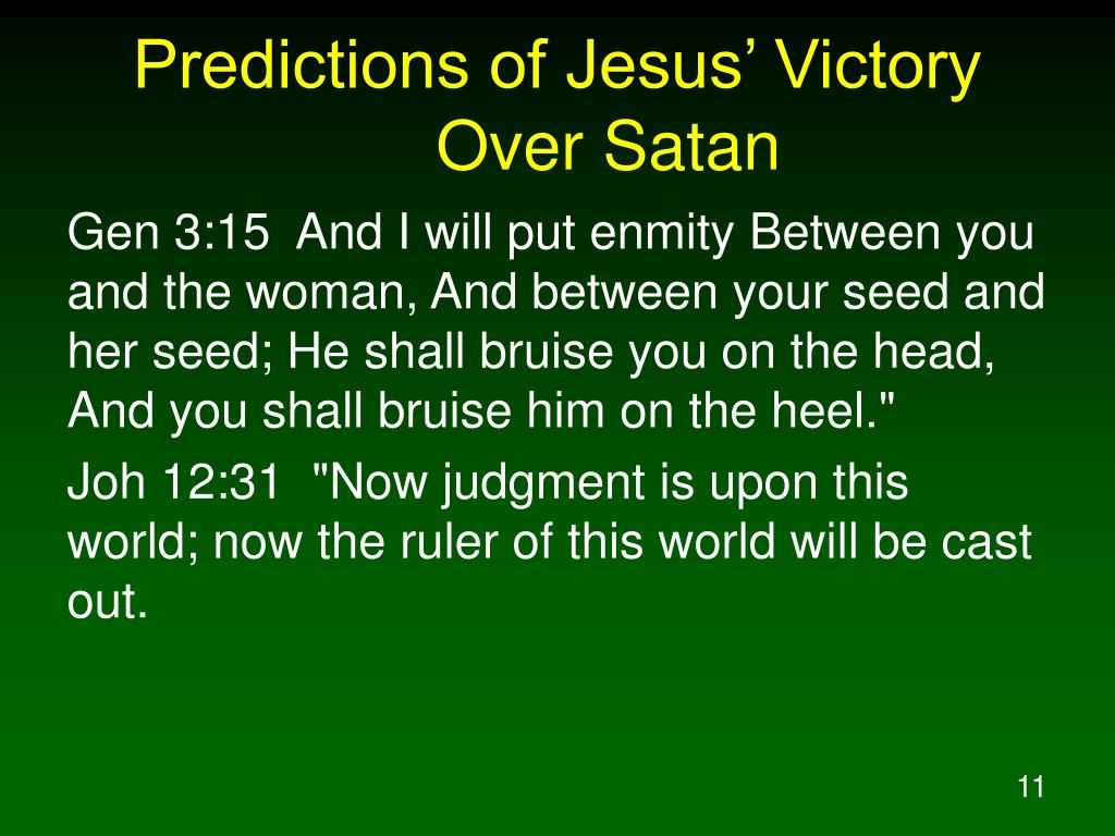 Predictions of Jesus' Victory Over Satan