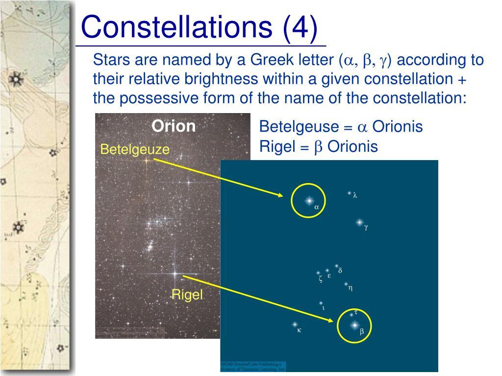 Constellations (4)