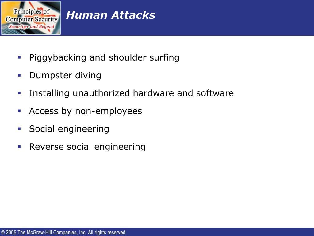 Human Attacks