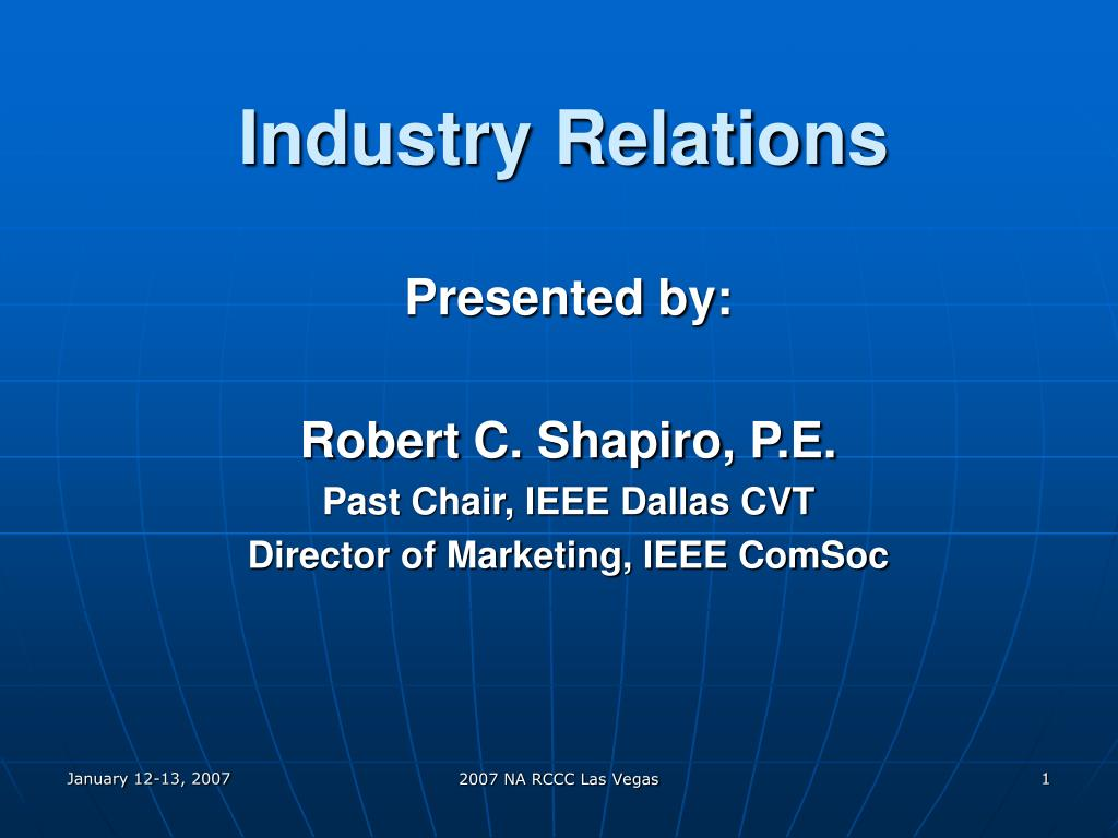 industry relations l.