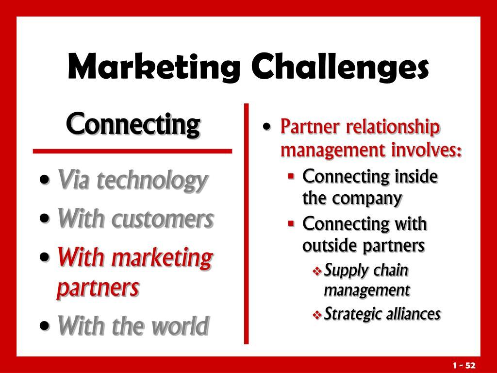 Partner relationship management involves: