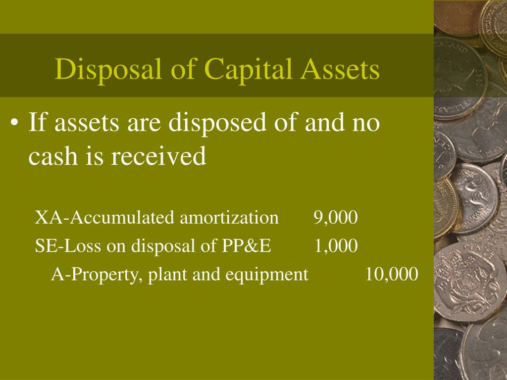 Disposal of Capital Assets