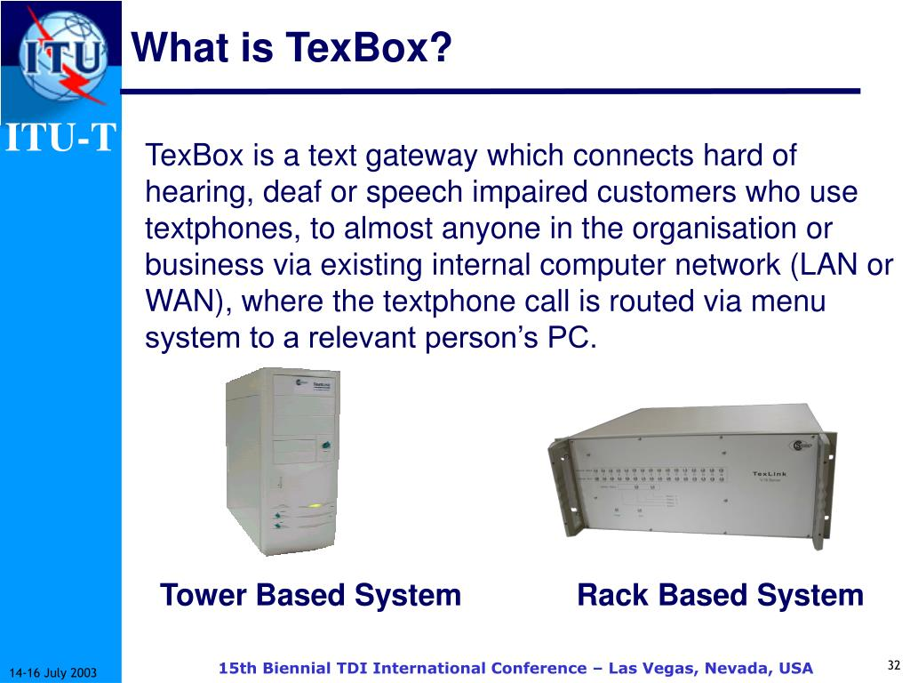 What is TexBox?