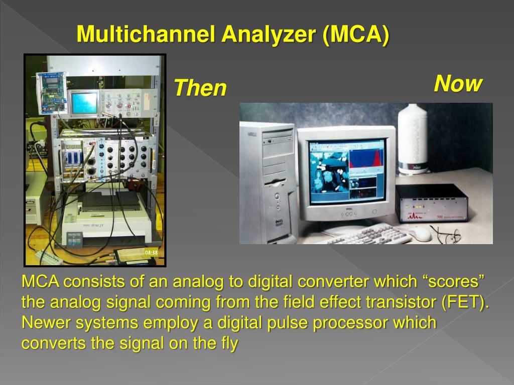 Multichannel Analyzer (MCA)