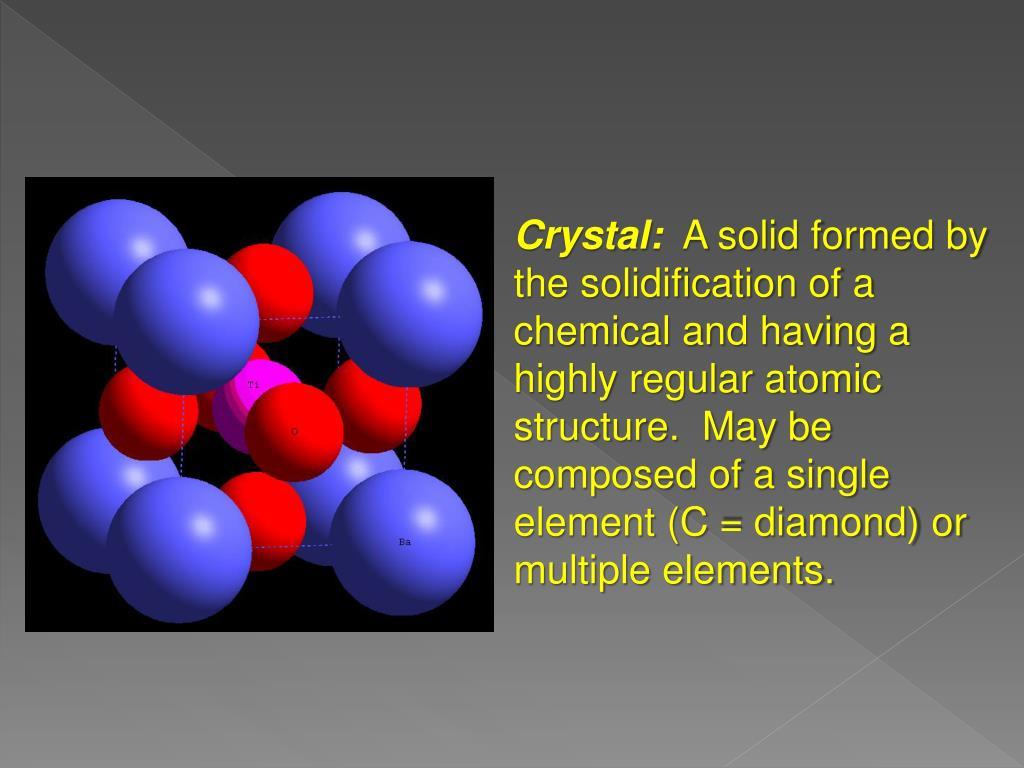 Crystal: