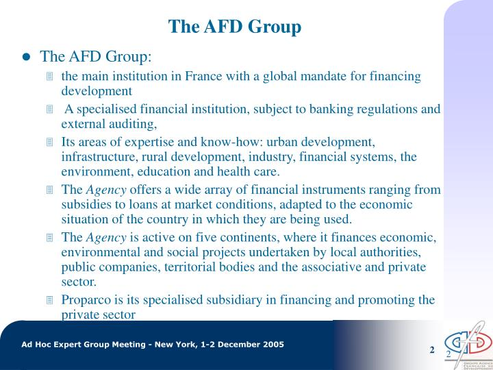 The afd group
