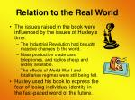 relation to the real world11