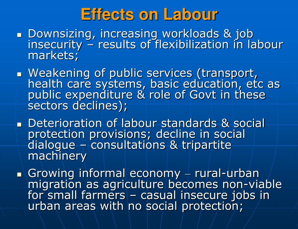 Effects on Labour