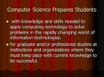 computer science prepares students