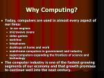 why computing