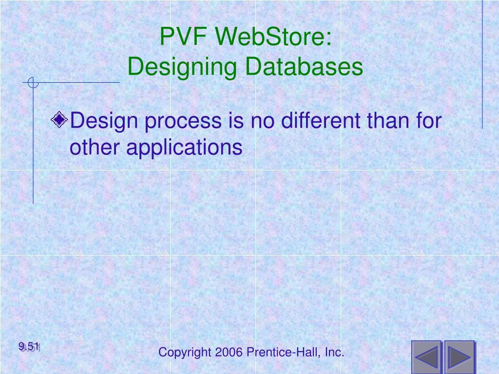 PVF WebStore: