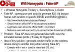 wifi honeypots fake ap