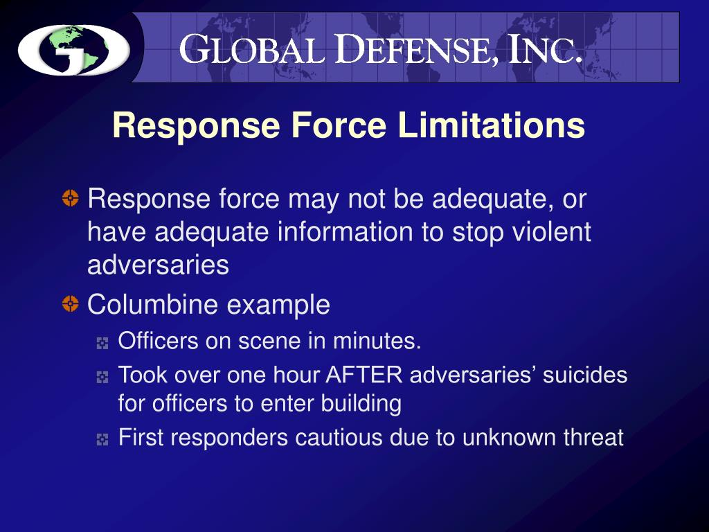 Response Force Limitations