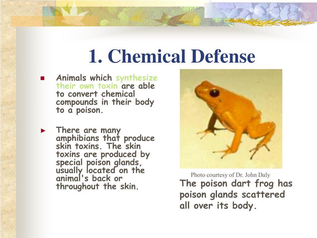 1. Chemical Defense