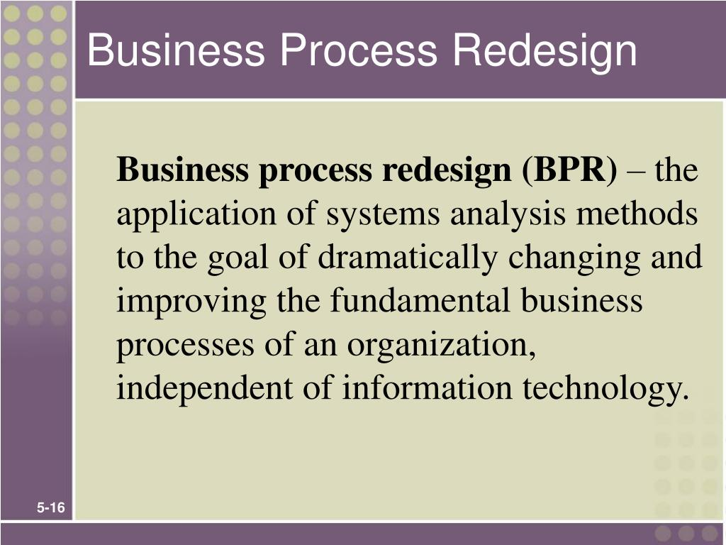 Business Process Redesign