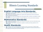 illinois learning standards6