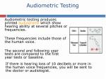 audiometric testing59