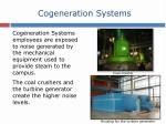 cogeneration systems