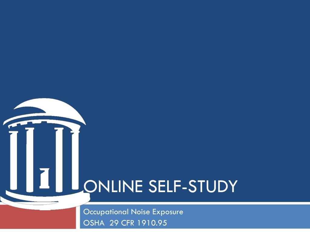 online self study