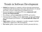 trends in software development
