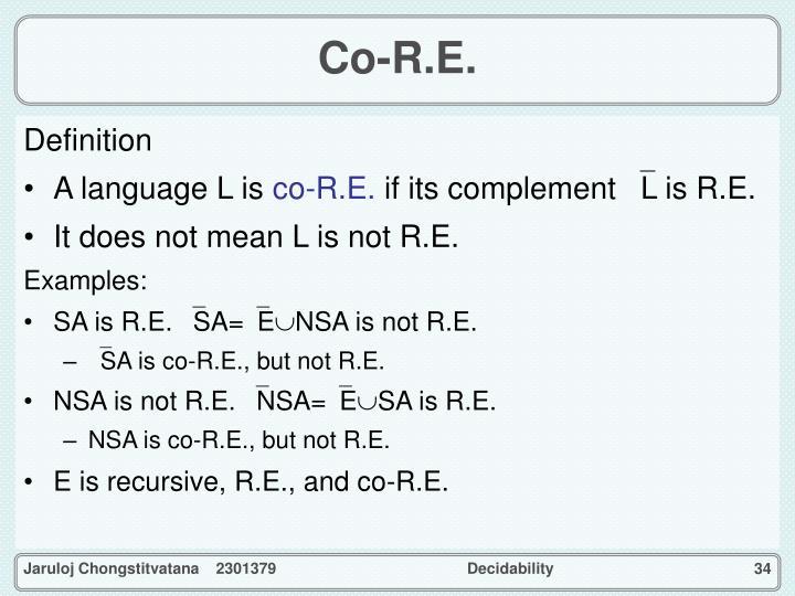 Co-R.E.