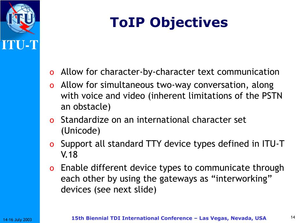 ToIP Objectives