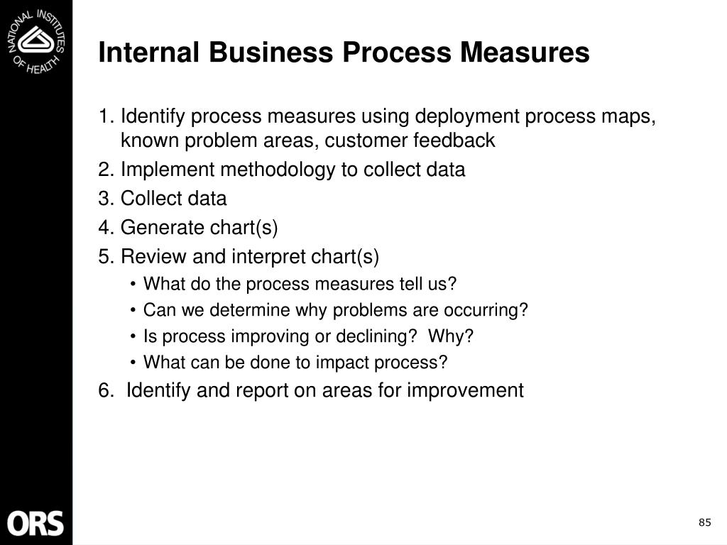 Internal Business Process Measures
