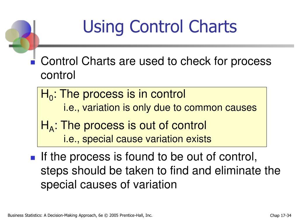 Using Control Charts