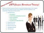crt campus recruitment training