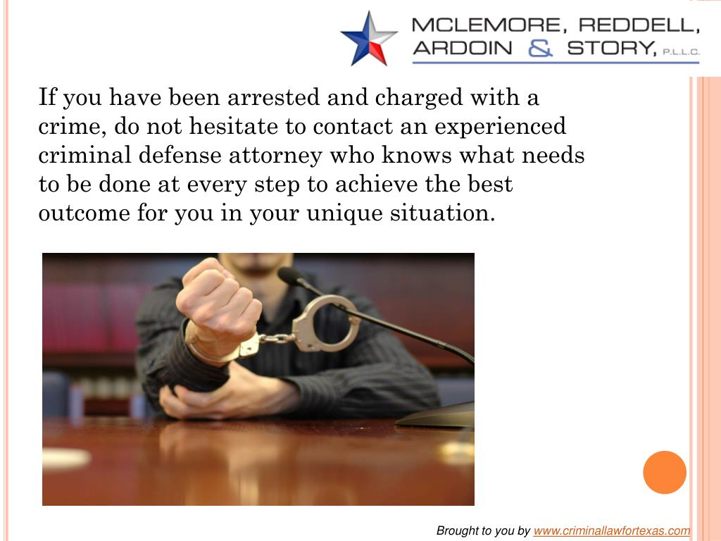 If you have been arrested and charged with a crime, do not hesitate to contact an experienced criminal defense attorney who knows what needs to be done at every step to achieve the best outcome for you in your unique situation.
