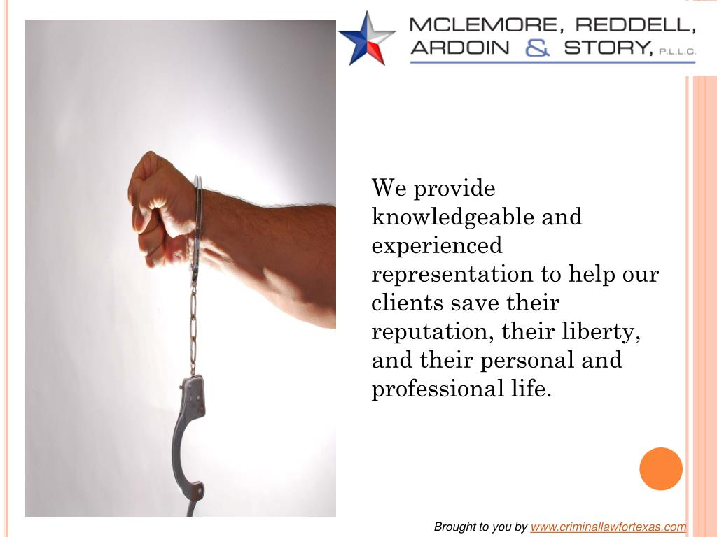 We provide knowledgeable and experienced representation to help our clients save their reputation, their liberty, and their personal and professional life.