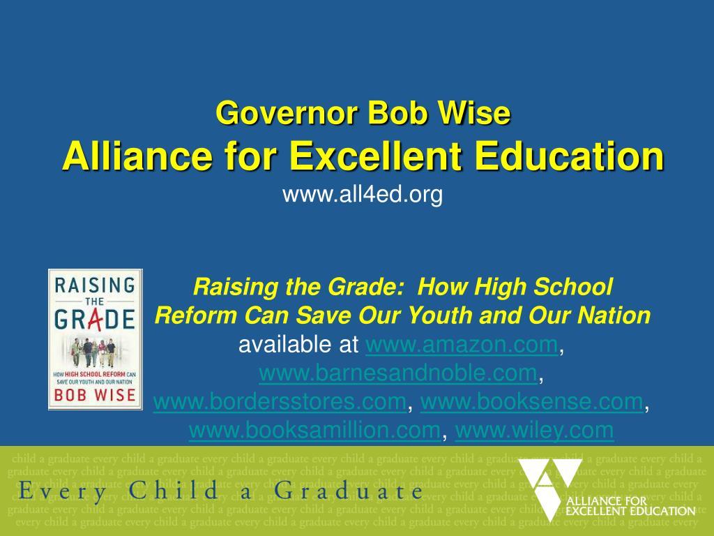Governor Bob Wise