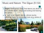 music and nature the gigue 51 54