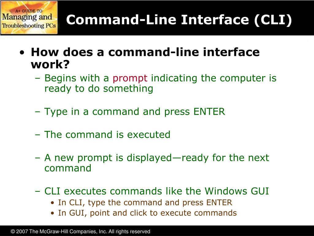 Command-Line Interface (CLI)