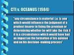 cti v oceanus 1984
