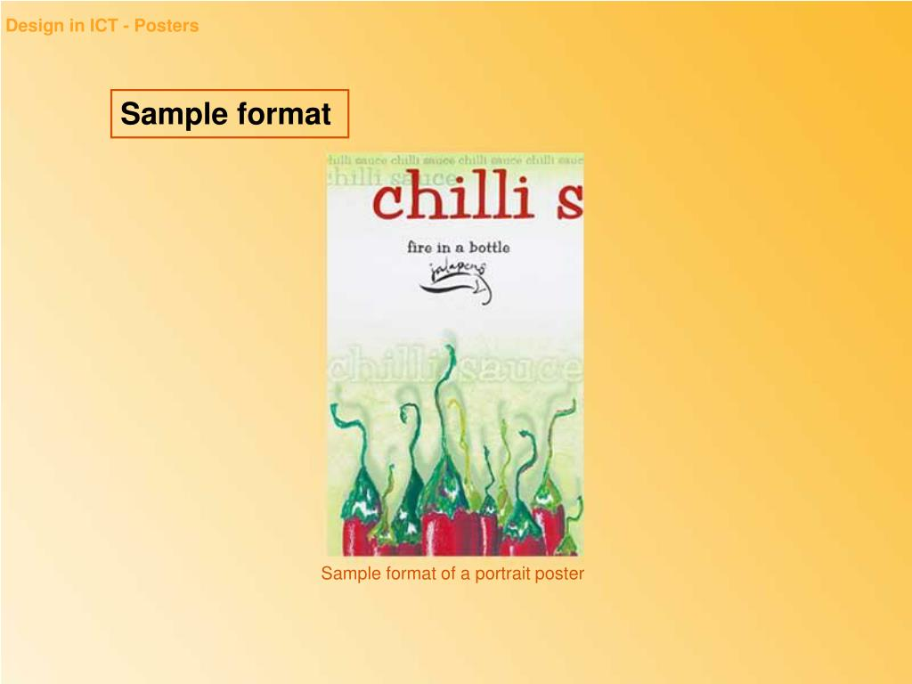 Design in ICT - Posters