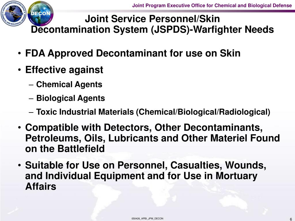 Joint Service Personnel/Skin