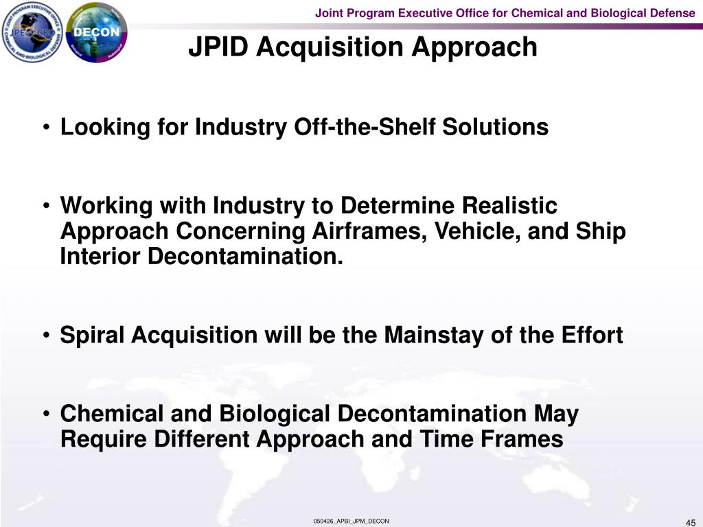 JPID Acquisition Approach