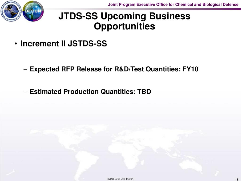 JTDS-SS Upcoming Business