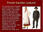 finnish karelian costume