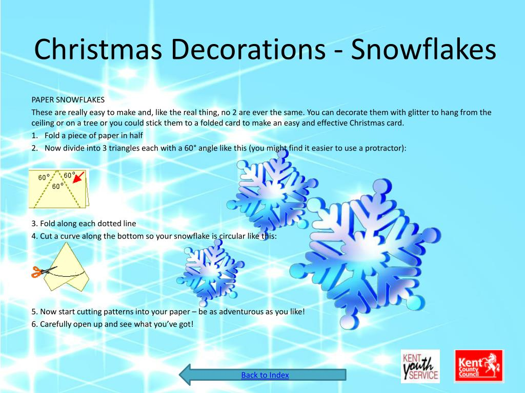 Christmas Decorations - Snowflakes