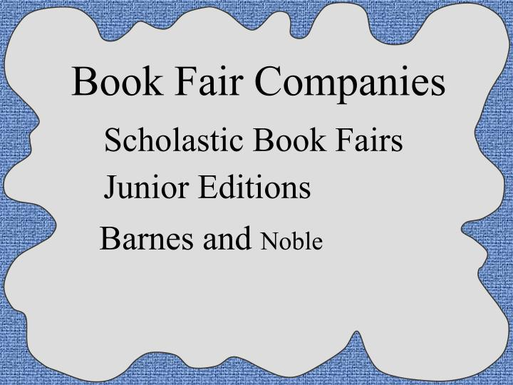 Book Fair Companies