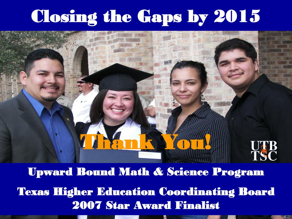Closing the Gaps by 2015
