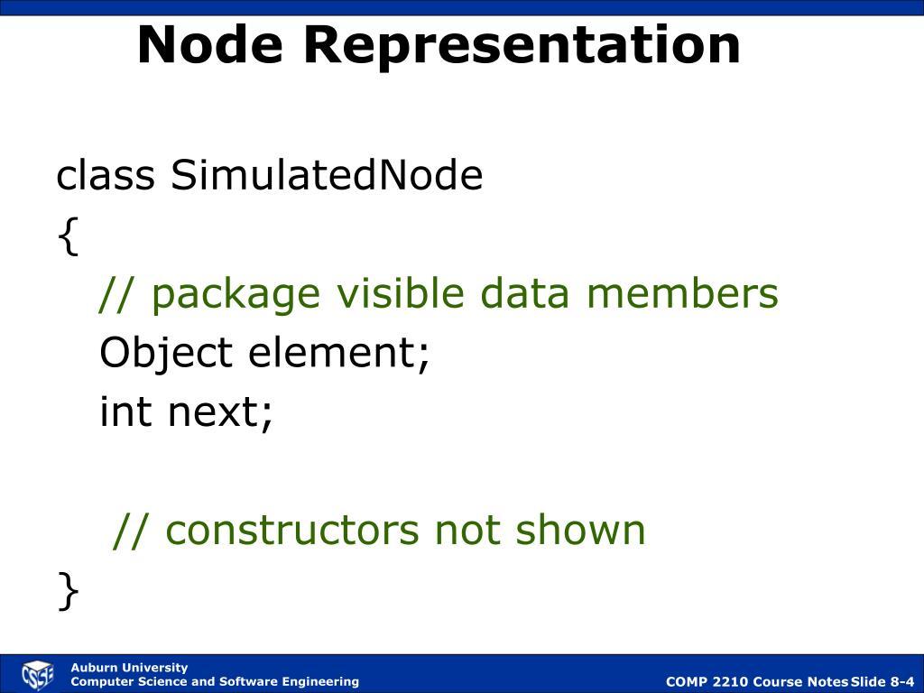 Node Representation